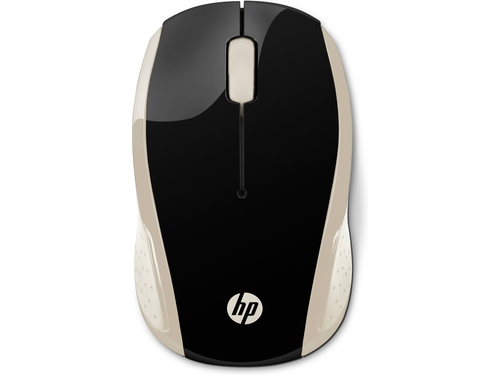 HP Wireless Mouse HP200 czarno-złota 2HU83AA
