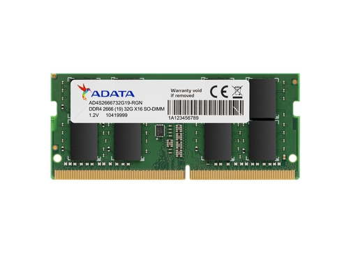 ADATA SO-DIMM DDR4 2666 8GB CL19 SingleTray - AD4S266688G19-SGN
