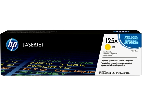 Toner HP YELLOW CB542A