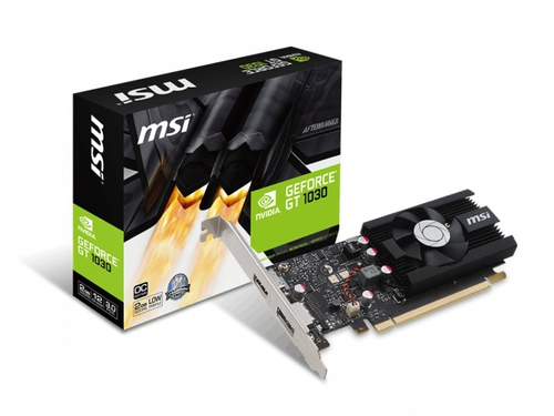 Karta graficzna MSI GeForce GT1030 GT 1030 2G LP OC LowProfile 2GB GDDR5 6008 MHz 64-bit