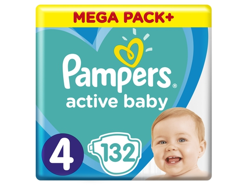 Pampers pieluchy ABD Mega Pack Plus Maxi 132szt