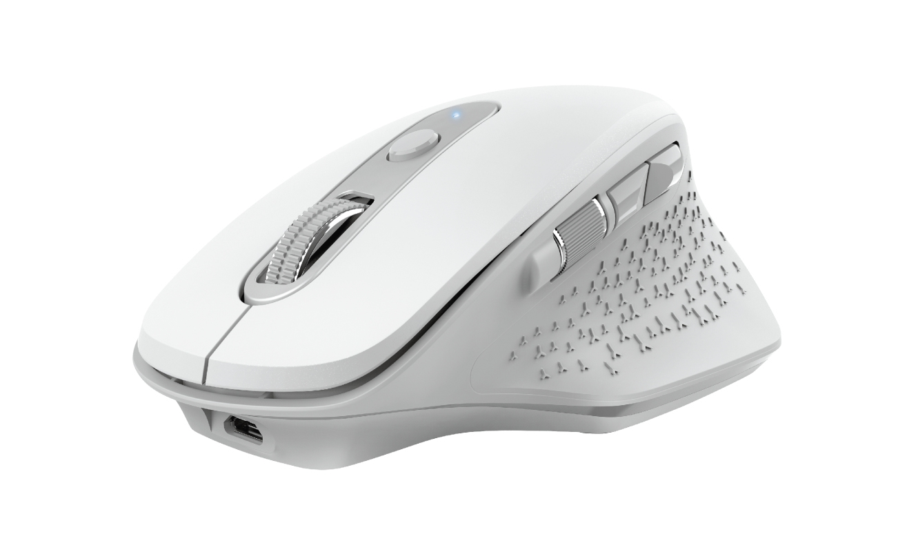 #MYSZ TRUST OZAA RECHARGEABLE MOUSE WHITE