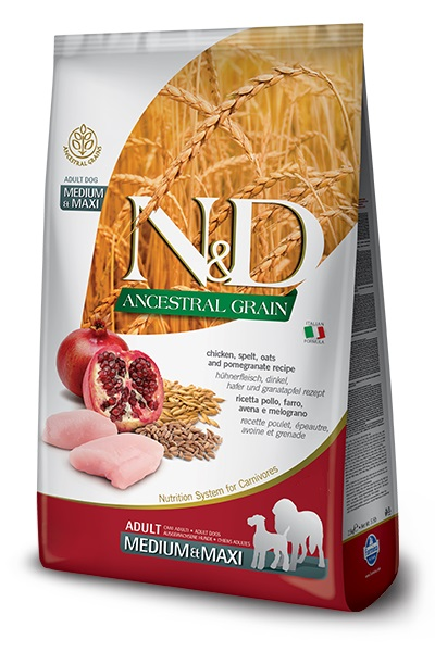 #FARMINA N&D Ancestral Grain Dog Chicken 12kg