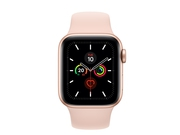 Apple Watch Series 5 GPS, 40mm Gold Aluminium Case - MWV72WB/A