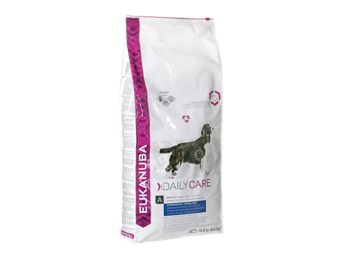 Eukanuba DailyCareAdult Overweight Sterilised12,5kg