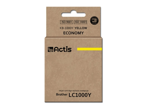 ACS tusz Brother LC1000/LC970 Yellow KB-1000Y