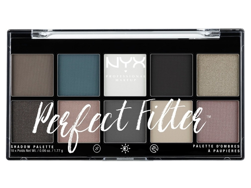 NYX PERFECT FILTER SHADOW PALETTE -GLOOMY DAYS