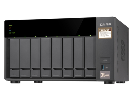 Qnap- TS-873-4G 8 Bay tower AMD 4GB RAM