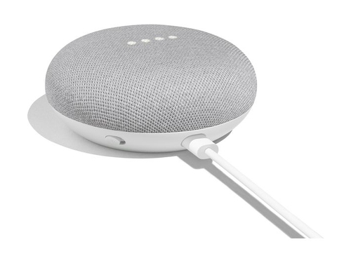 Google Home Mini Personal Assistant Voice White