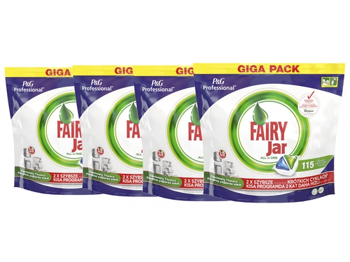 4 x FAIRY Kapsułki do zmywarki P&G Professional 115szt