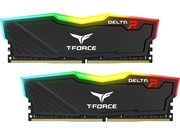 Team Group Delta RGB DDR4 16GB(2x8GB) 3200MHz black - TF3D416G3200HC16CDC01