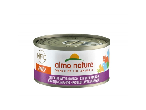 ALMO NATURE Classic in Jelly kurczak z mango 70g