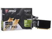 Karta graficzna MSI GeForce® GT 710, 2GB DDR3 (64 Bit), HDMI, DVI, D-Sub - GT 710 2GD3H LP