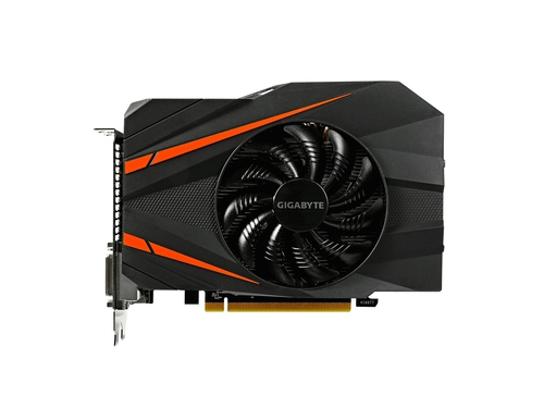 Karta graficzna Gigabyte GeForce GTX1080 GeForce GTX1080 Mini ITX GV-N1080IX-8GD 8GB GDDR5X 10010 MHz 256-bit