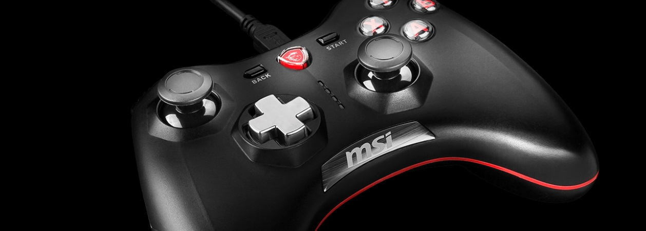 #Pad MSI Force GC20 Wired Game Controller