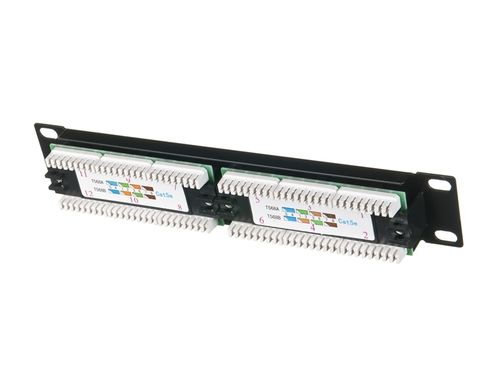 ALANTEC Patch panel UTP 12 portów LSA 10 - PK014