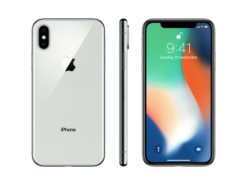 Smartfon Apple IPHONE X MQAD2RM/A GPS Bluetooth NFC LTE WiFi 64GB iOS 11 kolor srebrny