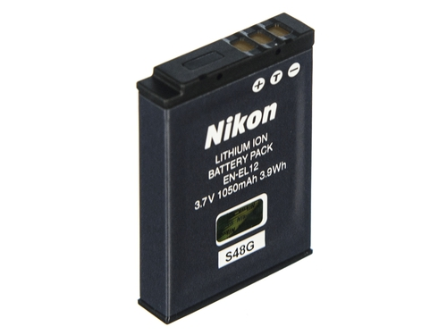 NIKON EN-EL12 RECHARGEABLE BATTERY - VFB10401