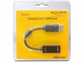 ADAPTER DISPLAYPORT (M) -> HDMI-I (F) 29PIN 0,2M - 61849