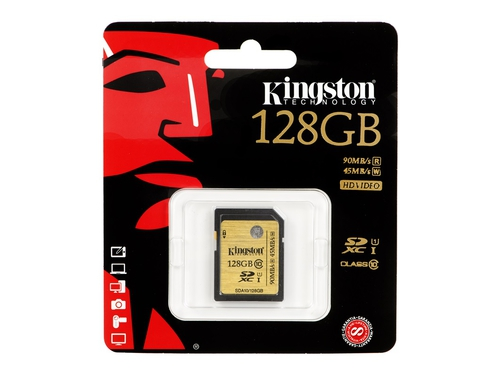 Karta pamięci Kingston SDXC 128GB SDHC Class10 UHS-I Ultimate - SDA10/128GB