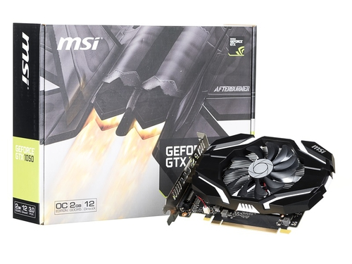 Karta graficzna MSI GeForce GTX1050 GTX 1050 2G OC 2GB
