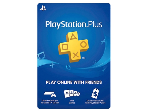 Karta Playstation Plus 365 dni