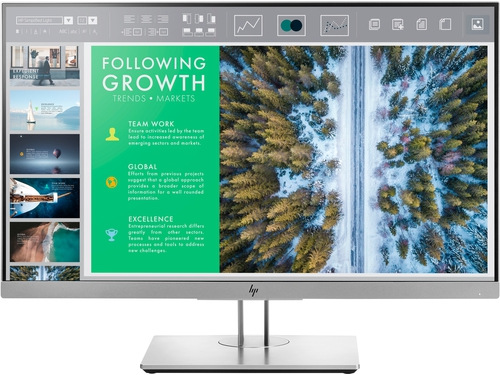 "MONITOR HP LED 23,8"" ELITEDISPLAY E243 - 1FH47AA#ABB"