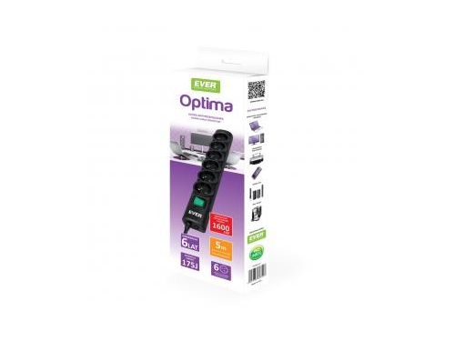 Ever Home/Office SurgeArrest Optima 5m - T/LZ08-OPT050/0000