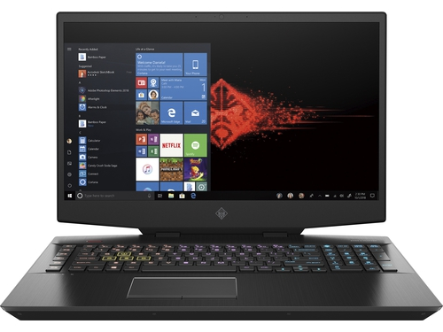 "HP OMEN 17-cb0034nw i7-9750H 17,3""MattFHD 144Hz IPS 16GB DDR4 SSD512RTX 2060_8GB RGB Win10 8NK06EA 2Y Shadow Black"