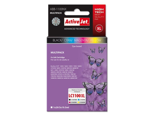 Activejet tusz Bro LC980 LC1100 Multipack ABB-1100NX