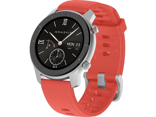 AMAZFIT GTR 42 mm Smart Watch Red