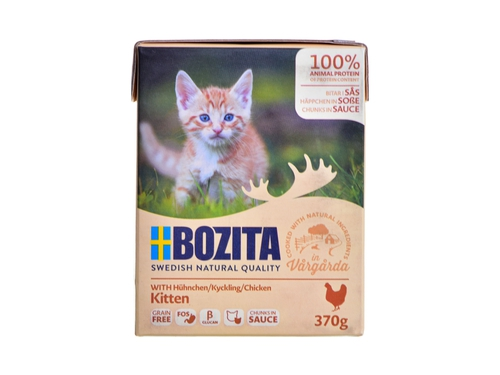 Chunks in sauce with Chicken for Kitten 370g