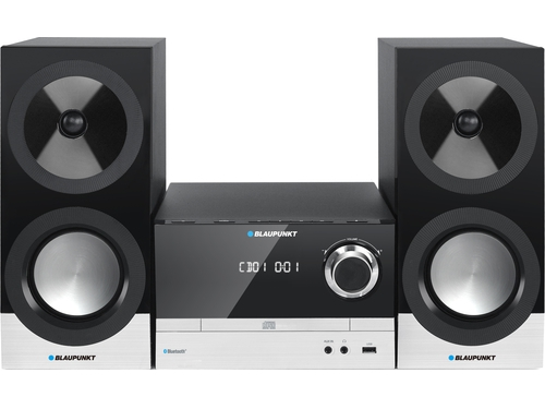 Mikrowieża Blaupunkt MS40BT, Bluetooth, CD / MP3 / USB / AUX, 2 X 50 W