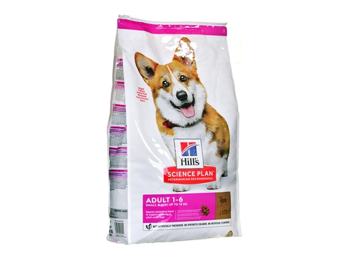 HILL'S Canine Small Lamb Rice 6kg - 052742025391