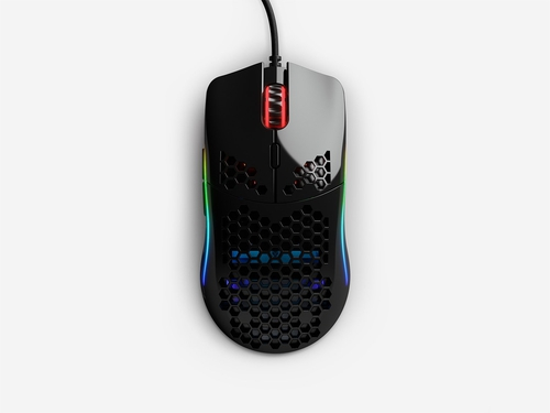 GLORIOUS MOUSE PC RACE MODEL O- GAMING BLACK GLOSS - GOM-GBLACK