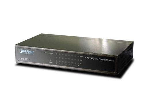 Switch Planet GSD-803 8x 10/100/1000Mbps