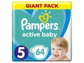 Pampers pieluchy Active Baby Junior 5 11-16 kg 64sz