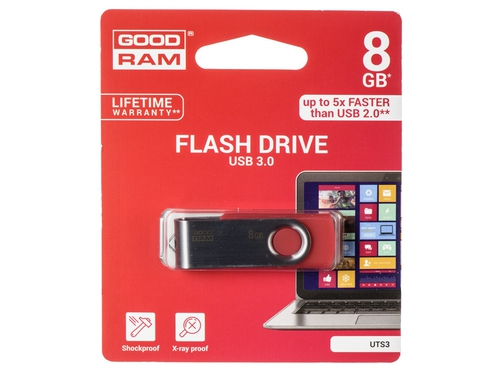 Pendrive GoodRam Twister 8GB USB 3.0 UTS3-0080R0R11