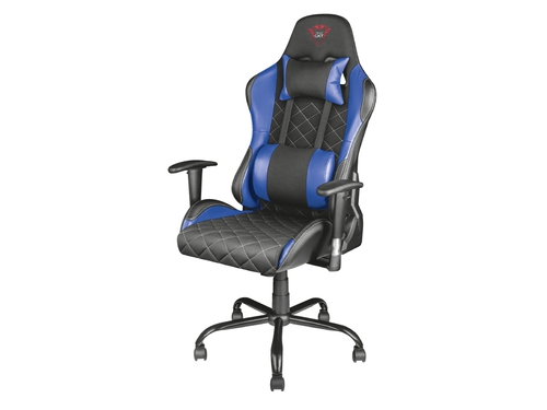 FOTEL GAMINGOWY GXT 707R Resto Gaming Chair - Blue - 22526