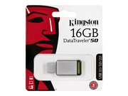 Pendrive Kingston Flash 16GB USB 3.0 DT50/16GB