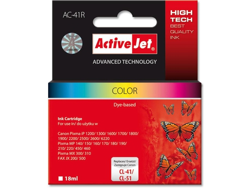 Activejet tusz Canon CL-41 Color ref. AC-41 - AC-41R (AC-41)