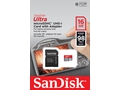 SANDISK ULTRA microSDHC 16 GB 98MB/s A1 Cl.10 UHS-I + ADAPTER - SDSQUAR-016G-GN6IA