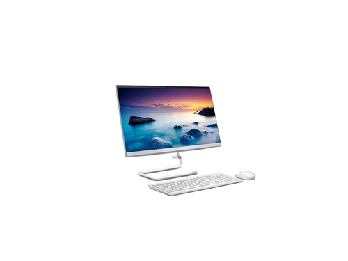 "Lenovo IdeaCentre AIO 3 22ADA05 Athlon Silver 3050U 21.5"" FHD IPS 8GB DDR4-2666 256GB SSD M.2 2242 PCIe NVMe AMD Radeon Graphics Windows 10 Home F0EX008LPB Foggy White"