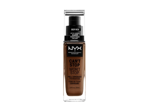 NYX Worth The Hype Matte Foundation-DEEP RICH