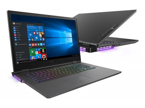 "Laptop gamingowy Lenovo Legion Y730-17ICH 81HG002MPB Core i7-8750H 17,3"" 8GB SSD 256GB GeForce GTX1050Ti Intel UHD 630 Win10"