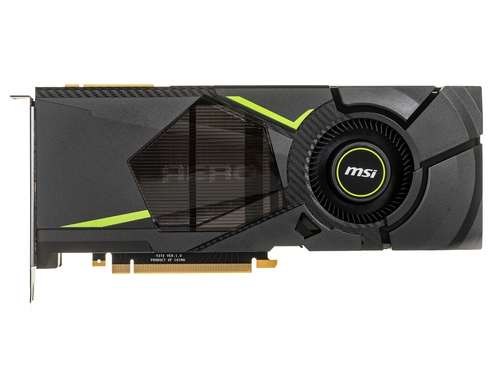 Karta graficzna MSI GeForce RTX 2080 GeForce RTX 2080 AERO 8G 8GB GDDR6 14000 MHz 256-bit