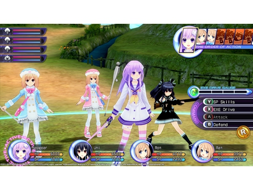 Hyperdimension Neptunia Re+Birth2: Sisters Generation Deluxe DLC - K01239