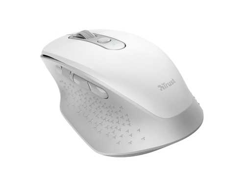 MYSZ TRUST OZAA RECHARGEABLE MOUSE WHITE - 24035