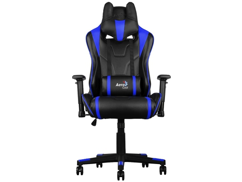 Fotel gamingowy Aerocool AC220-BB AIR BLACK/BLUE