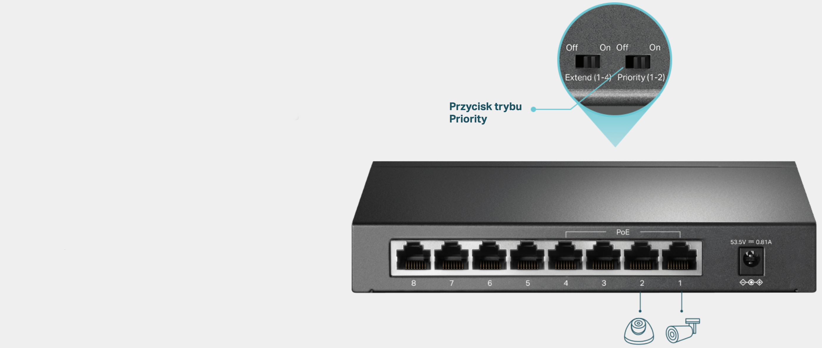 #Switch TP-LINK TL-SF1008LP